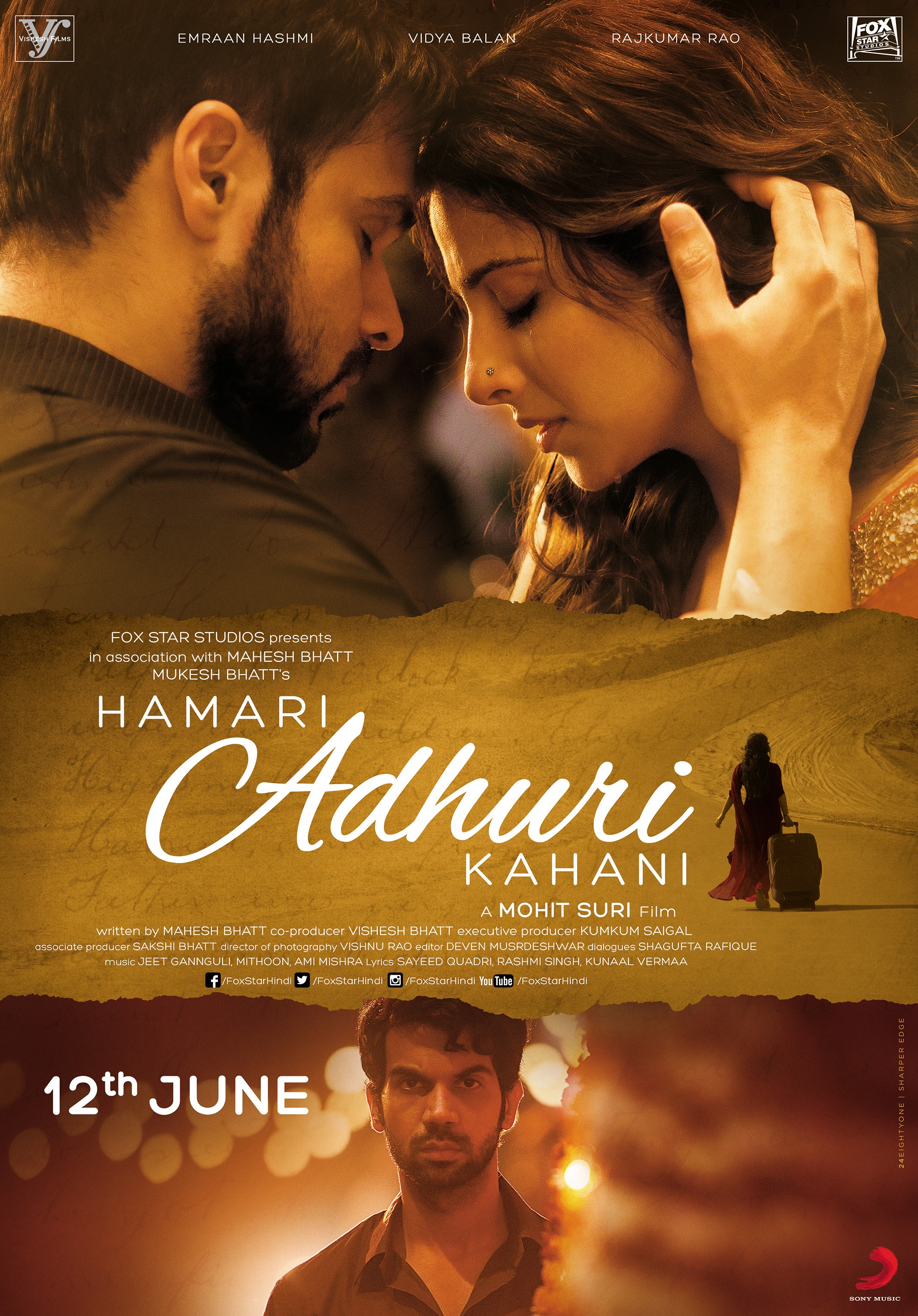 Hamari Adhuri Kahani 2015 Imdb
