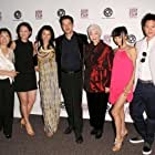 Curtis Lum with the cast of Dim Sum Funeral