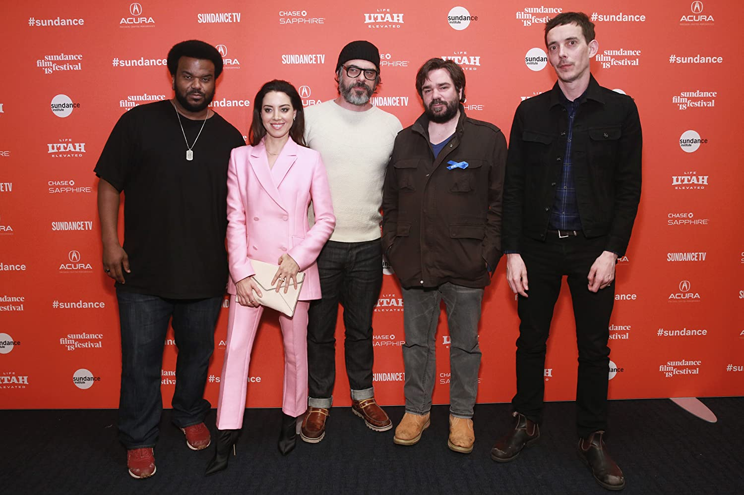 Craig Robinson, Jemaine Clement, Matt Berry, Jim Hosking, and Aubrey Plaza
