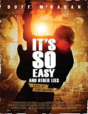 It's So Easy and Other Lies poster