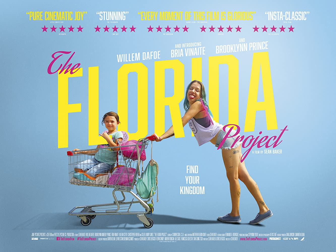Poster film The Florida Project
