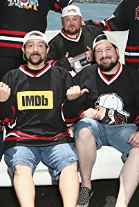 IMDboat Captain Kevin Smith judges the Ultimate Kevin Smith Cosplay Contest at San Diego Comic-Con 2018.