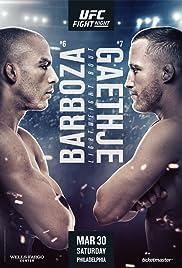 Barboza vs. Gaethje Poster