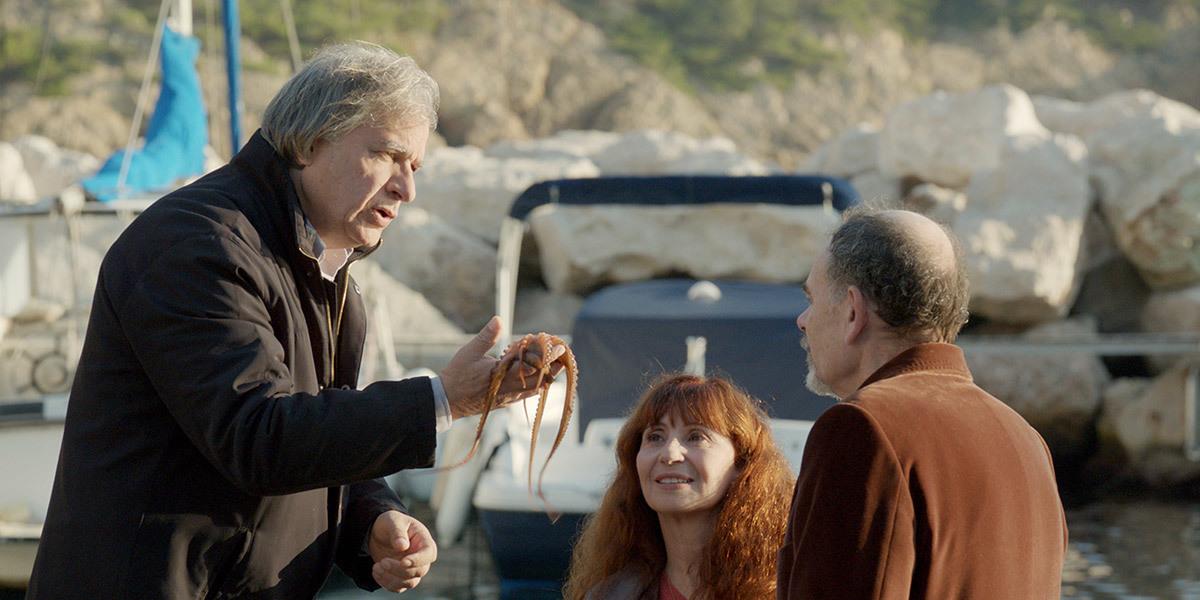 Ariane Ascaride, Jean-Pierre Darroussin, and Gérard Meylan in La villa (2017)