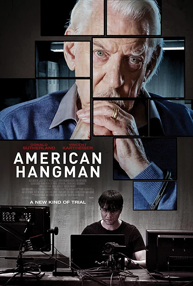 Donald Sutherland and Vincent Kartheiser in American Hangman (2019)