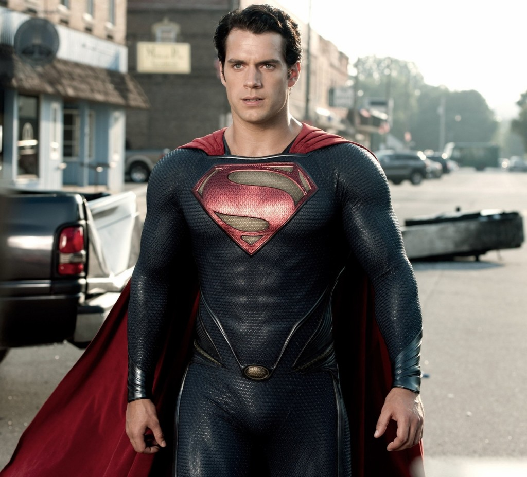 Henry Cavill in Man of Steel 2013
