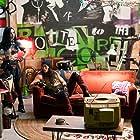 Booboo Stewart, Cameron Boyce, Dove Cameron, and Sofia Carson in Descendants 2 (2017)
