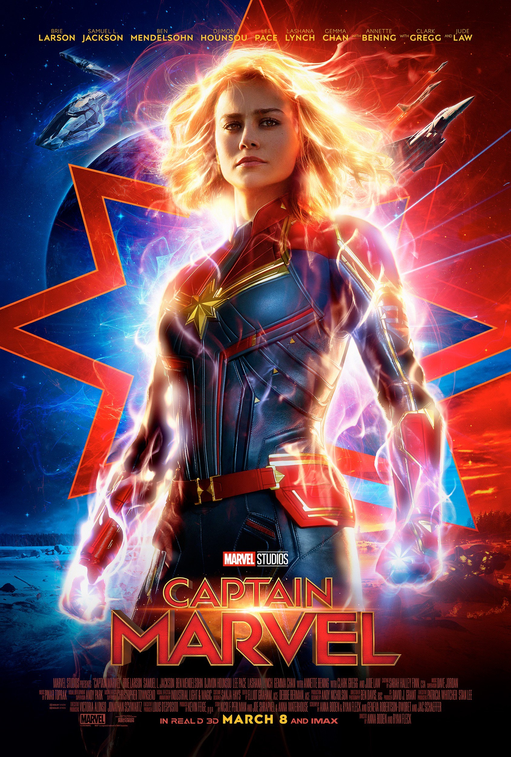 Brie Larson in Captain Marvel (2019)