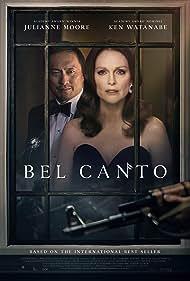 Julianne Moore and Ken Watanabe in Bel Canto (2018)