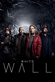 Aksel Hennie, Vera Vitali, Ardalan Esmaili, and Mattias Nordkvist in White Wall (2020)