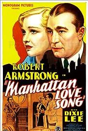 Manhattan Love Song Poster
