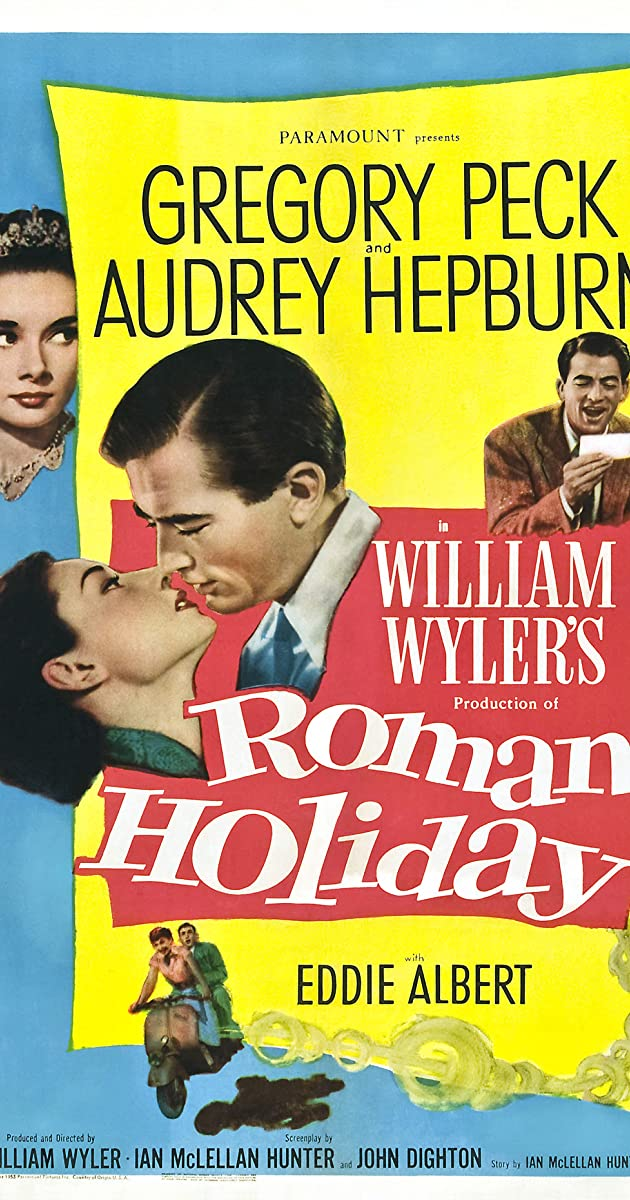 Play or Watch Movies for free Roman Holiday (1953)