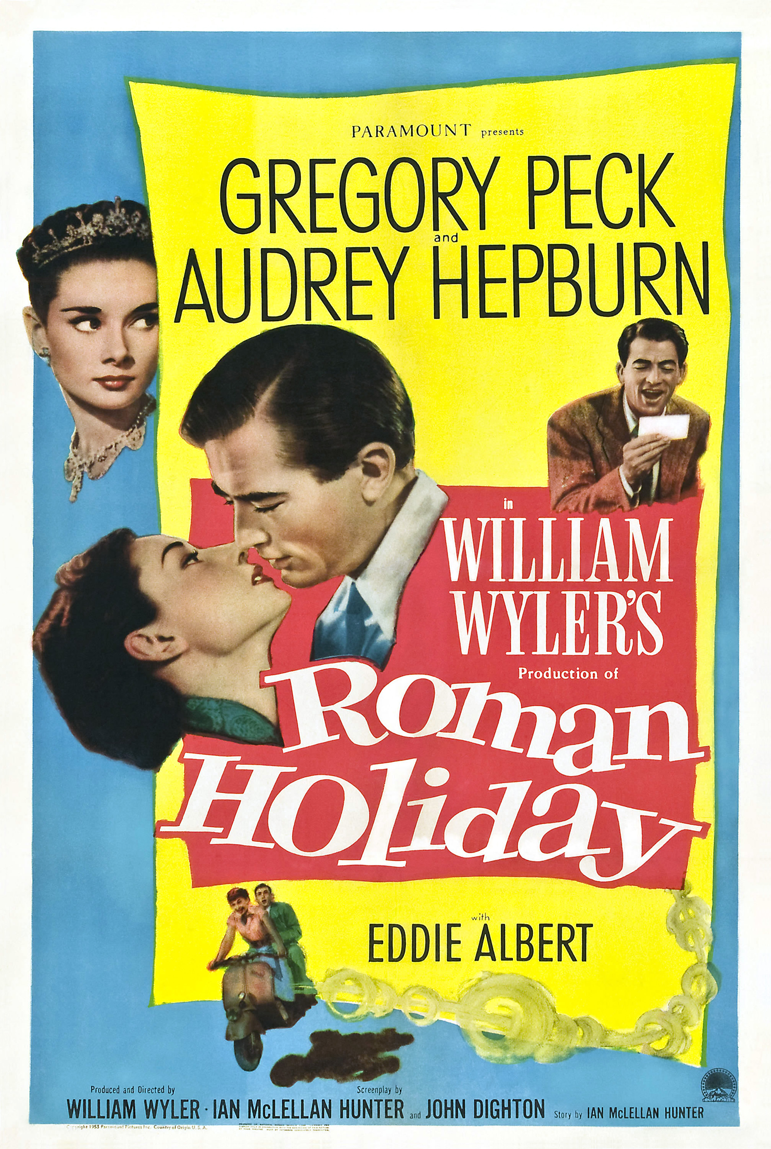Roman Holiday (1953) WEBRip 720p & 1080p