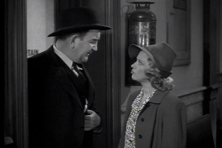 Glenda Farrell and Tom Kennedy in Torchy Blane in Chinatown (1939)