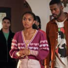 Yara Shahidi and Trevor Jackson in Daddy Lessons (2021)