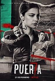 Carlos Belloso, Dolores Fonzi, and Esteban Lamothe in Puerta 7 (2020)
