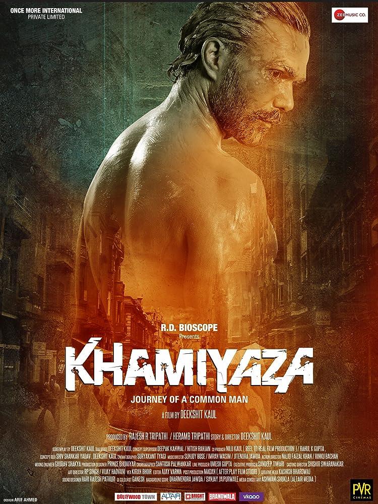 Khamiyaza (2019) Hindi 720p HDTV x264 1.GB