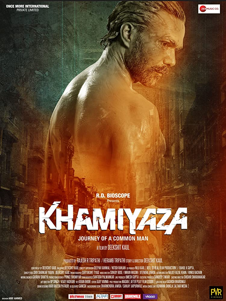 Khamiyaza (2019) Hindi 300MB HDTV 480p x264