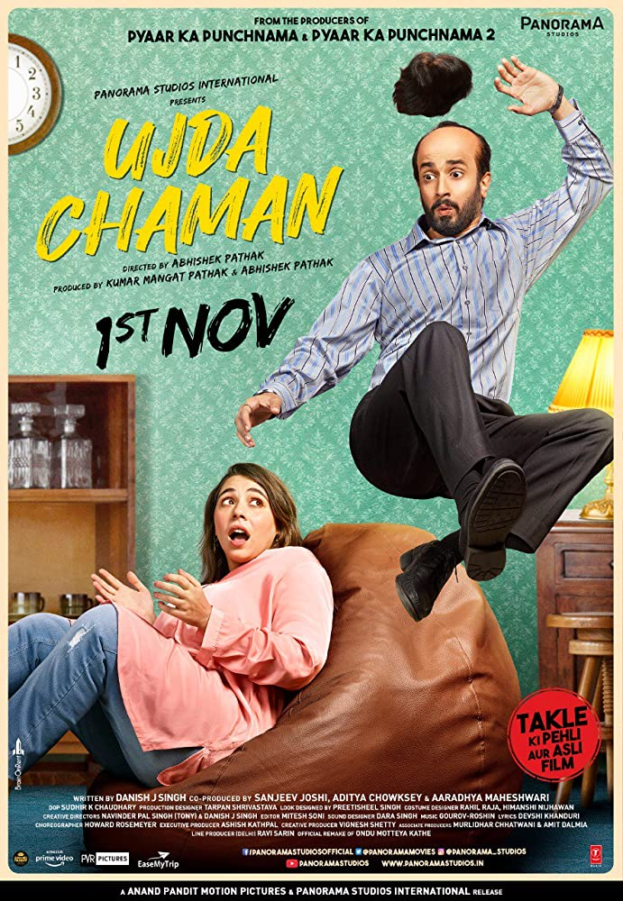 Ujda Chaman (2019) Hindi Movie 480p PreDVDRip x264 400MB