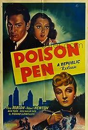 Poison Pen (1939) 1080p