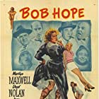 Bob Hope, Jane Darwell, Fred Clark, Jay C. Flippen, William Frawley, Andrea King, Marilyn Maxwell, Lloyd Nolan, and Ben Welden in The Lemon Drop Kid (1951)