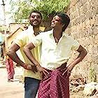 Vishal and Soori in Marudhu (2016)