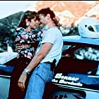Steven Bauer and Cynthia Gibb in Drive Like Lightning (1992)