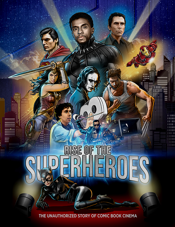 Rise of the Superheroes (2018) English 720p HDRip x264 800MB
