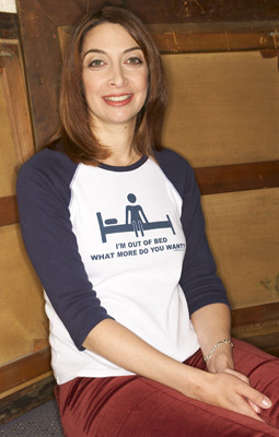 Illeana Douglas at an event for Dummy (2002)
