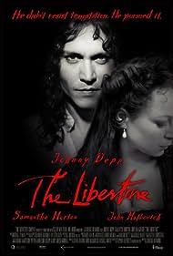 Johnny Depp and Samantha Morton in The Libertine (2004)