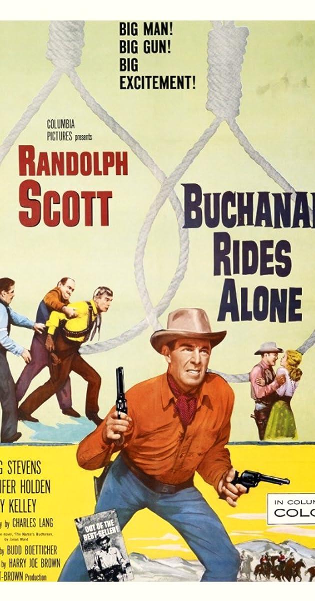 Subtitle of Buchanan Rides Alone
