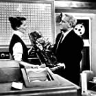 "5758-1 Katharine Hepburn and Spencer Tracy in ""Desk Set"""