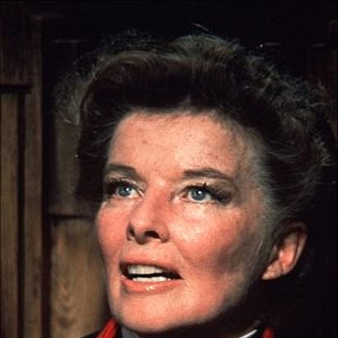 722-2226 Katharine Hepburn on the set of