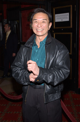Randall Duk Kim at an event for The Matrix Reloaded (2003)