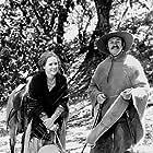 """Zandy's Bride"" Liv Ullmann and Gene Hackman on the Big Sur Location, 1973"