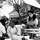 """Elizabeth Taylor and Montgomery Clift on the set of """"Raintree County,"""" MGM 1956."""