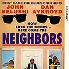 John Belushi, Dan Aykroyd, and Cathy Moriarty in Neighbors (1981)