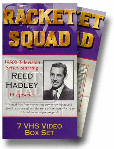Reed Hadley in Racket Squad (1950)
