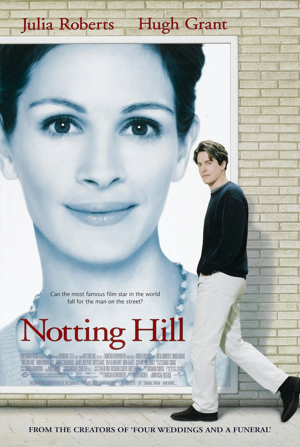 Image result for notting hill 1999 poster