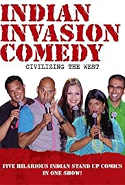 Indian Invasion Comedy Poster