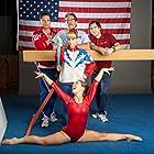 Gary Cole, Sebastian Stan, Melissa Rauch, Thomas Middleditch, and Haley Lu Richardson in The Bronze (2015)