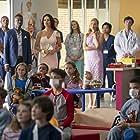Catherine Zeta-Jones, Teagle F. Bougere, Molly Price, Alyssa Olivia Field, and Rana Roy in Queen America (2018)