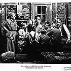 Henry Fonda, Jane Darwell, Dorris Bowdon, Frank Darien, Darryl Hickman, Shirley Mills, Russell Simpson, and O.Z. Whitehead in The Grapes of Wrath (1940)