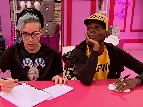 Phi Phi O'Hara and Coco Montrese in RuPaul's Drag Race All Stars (2012)