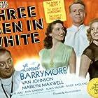 Lionel Barrymore, Ava Gardner, Van Johnson, and Marilyn Maxwell in 3 Men in White (1944)