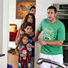 Salma Hayek, Adam Sandler, Jake Goldberg, Cameron Boyce, and Alexys Nycole Sanchez in Grown Ups 2 (2013)