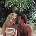 Lorenzo Lamas and Laura Johnson in Falcon Crest (1981)