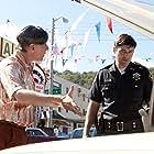 Dan Castellaneta and Kyle Chandler in Super 8 (2011)