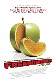 Freakonomics (2010) Poster - Movie Forum, Cast, Reviews