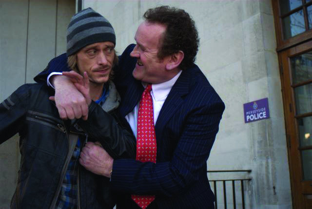 Colm Meaney and Mackenzie Crook in Three and Out (2008)